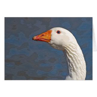 Goose Portrait Card