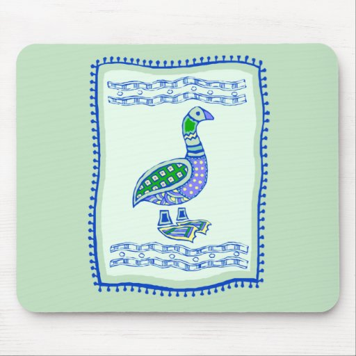 Goose Quilt Mouse Pads