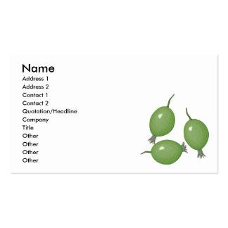 gooseberries business cards