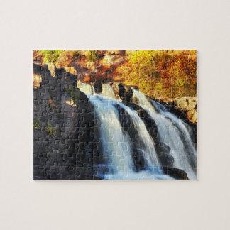 Gooseberry Falls Minnesota Jigsaw Puzzle