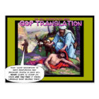GOP and the Good Samaritan Postcard