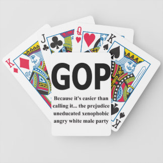 GOP# BICYCLE PLAYING CARDS