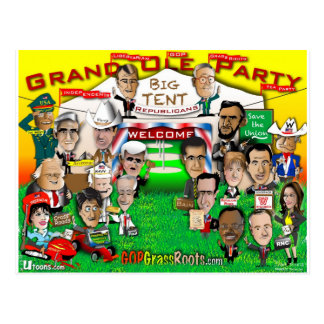 GOP Big Tent Postcard