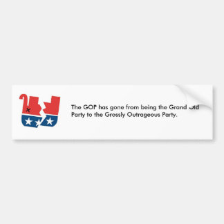 GOP BUMPER STICKER