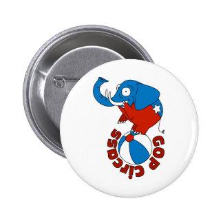 GOP Circass Pin