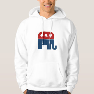 GOP elephant Logo republican design Hoodie