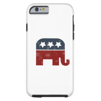 GOP elephant logo Tough iPhone 6 Case