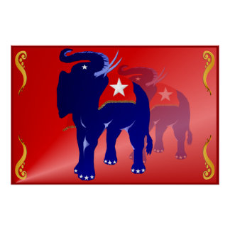 GOP elephant  Poster