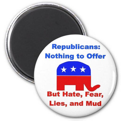 GOP Fearmongers Fridge Magnet