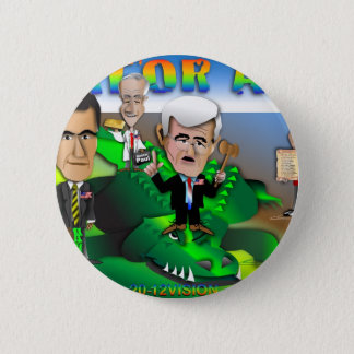 GOP Gator Aid 6 Cm Round Badge