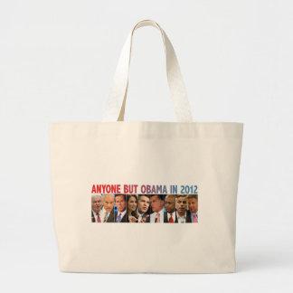 GOP Nine - 2012 Republican Primary Election Jumbo Tote Bag