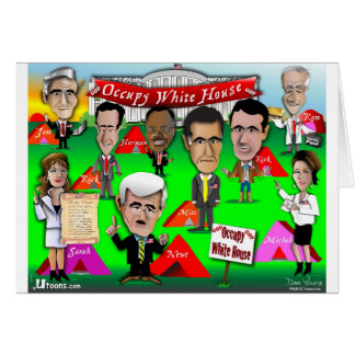 GOP Occupy White House Card