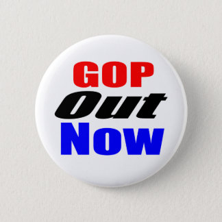 GOP Out Now 6 Cm Round Badge
