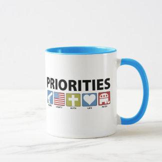 GOP Priorities Mug