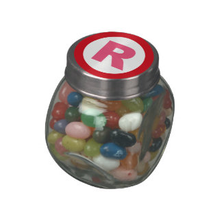 GOP R SYMBOL png Glass Candy Jars