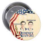 GOP Tradition:Romney Ryan 7.5 Cm Round Badge