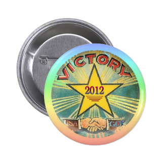 GOP Victory 2012 Buttons