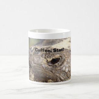 Gopher Turtle, Coffee, Stat! Coffee Mug