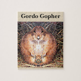 Gordo The Happy Gopher Game Puzzle