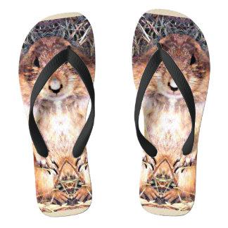 Gordo Unisex Flip Flops Thongs