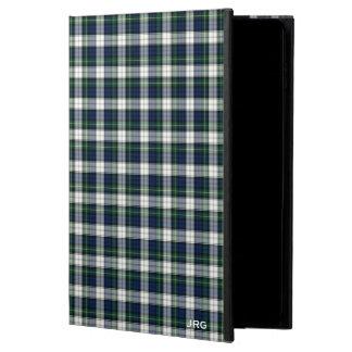 Gordon Clan Dress Tartan Blue Plaid Monogram Powis iPad Air 2 Case