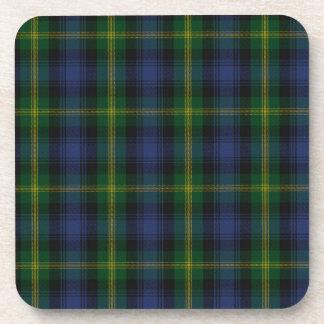 Gordon Clan Family Tartan Coaster