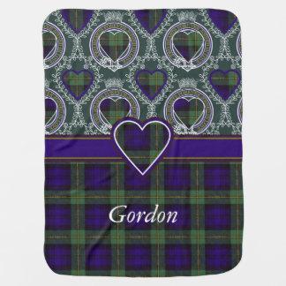 Gordon clan Plaid Scottish tartan Baby Blanket