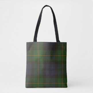 Gordon Clan Tartan Tote Bag