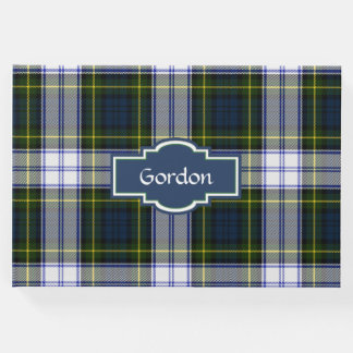 Gordon Dress Plaid Guest Book