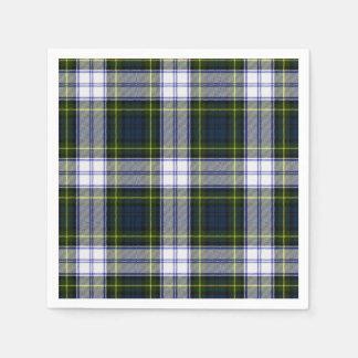 Gordon Dress Tartan Plaid Paper Napkins