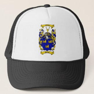 GORDON FAMILY CREST -  GORDON COAT OF ARMS TRUCKER HAT
