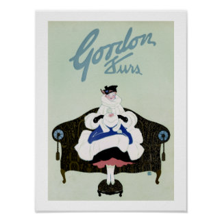 Gordon Furs Poster