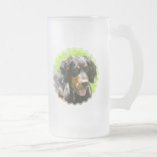 Gordon Setter Dog Beer Mug