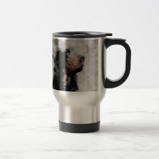 Gordon Setter Grunge Aluminum Travel Mug