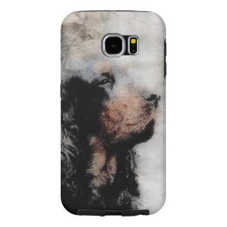 Gordon Setter Grunge Samsung Galaxy S6 Cover