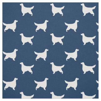 Gordon Setter Silhouettes Pattern Fabric