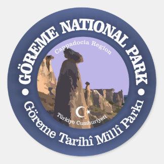 Goreme NP Classic Round Sticker