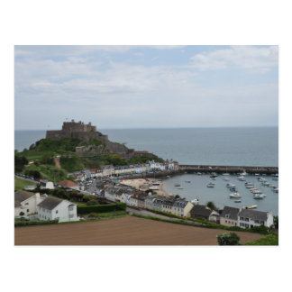Gorey Harbour and Pier Postcard