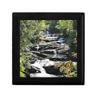 Gorge at Moxie Falls in West Forks Maine Gift Box