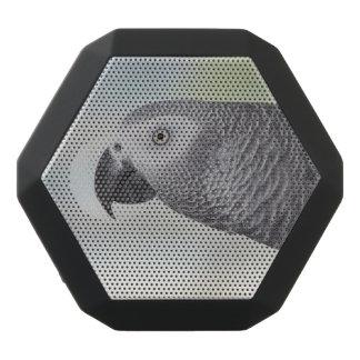 Gorgeous African Grey Parrot Black Boombot Rex Bluetooth Speaker