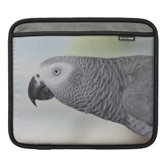 Gorgeous African Grey Parrot iPad Sleeves
