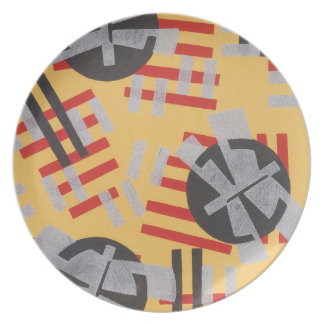 Gorgeous Art Deco Geometric Abstract Gifts Plates