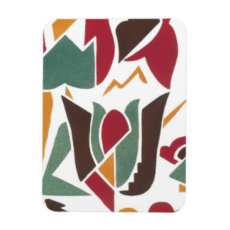 Gorgeous Art Deco Geometric Abstract Gifts Flexible Magnets