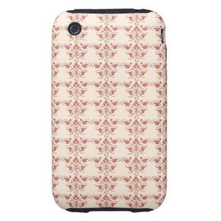 Gorgeous Art Nouveau Abstract Floral Tough iPhone 3 Cases