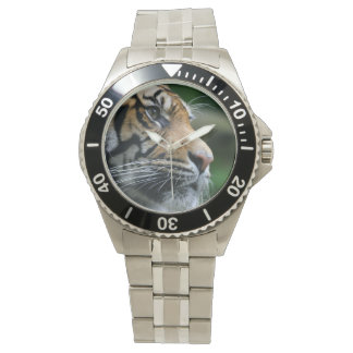 Gorgeous Bengal Tiger Face Wrist Watches