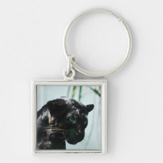 Gorgeous Black Panther Key Ring