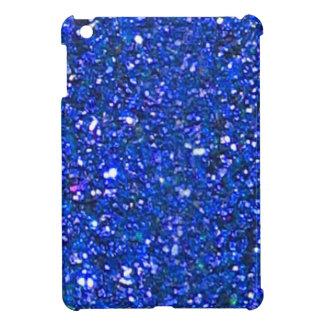 Gorgeous Blue Glitter Mini iPad Case - Holidays!