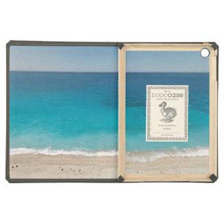 Gorgeous blue ocean water iPad air cover