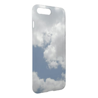 Gorgeous Blue Sky White Clouds Design iPhone 8 Plus/7 Plus Case