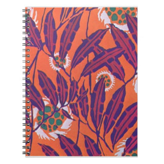 Gorgeous Bold Art Deco Abstracts Nature Wildlife Spiral Notebooks